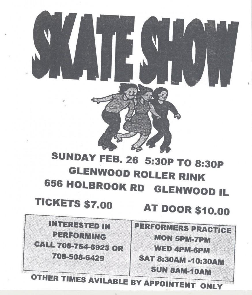 Glenwood Skate Show